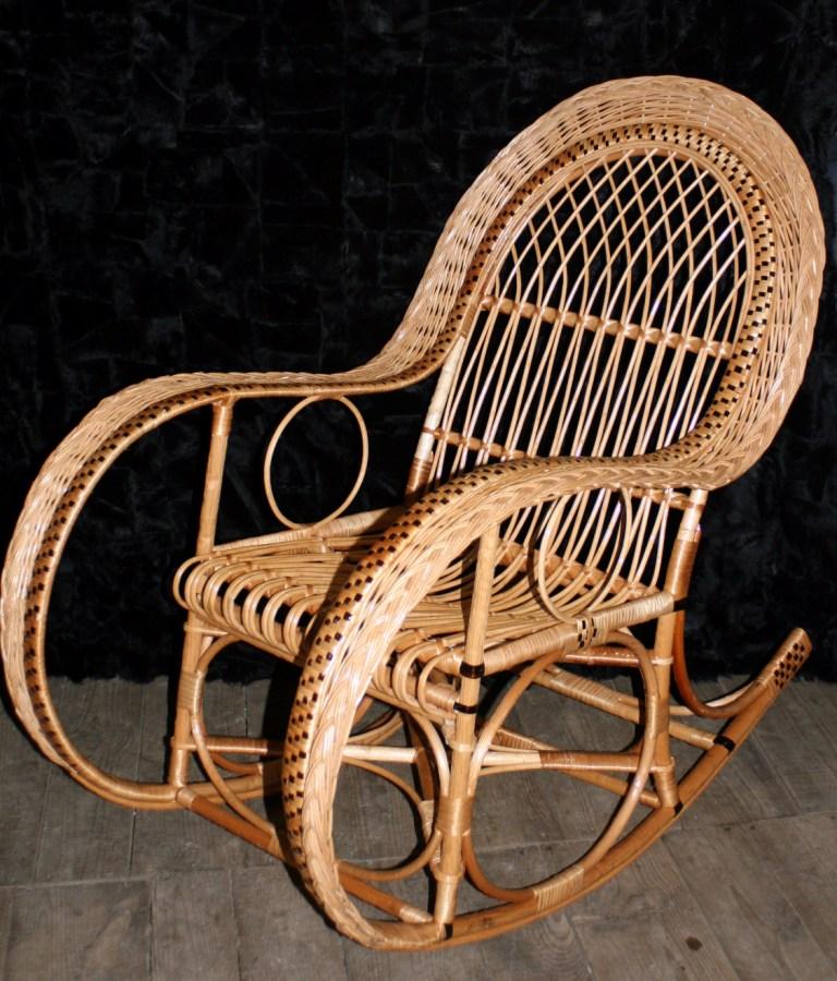 Кресло из ивовых прутьев своими руками 15