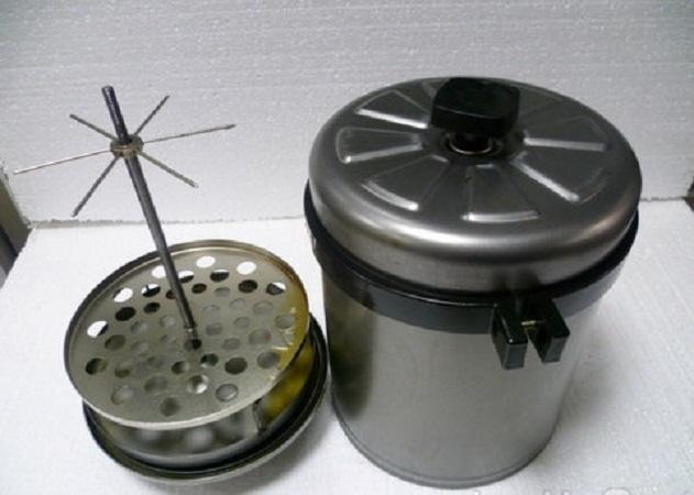 Коптильня с газовой плиты