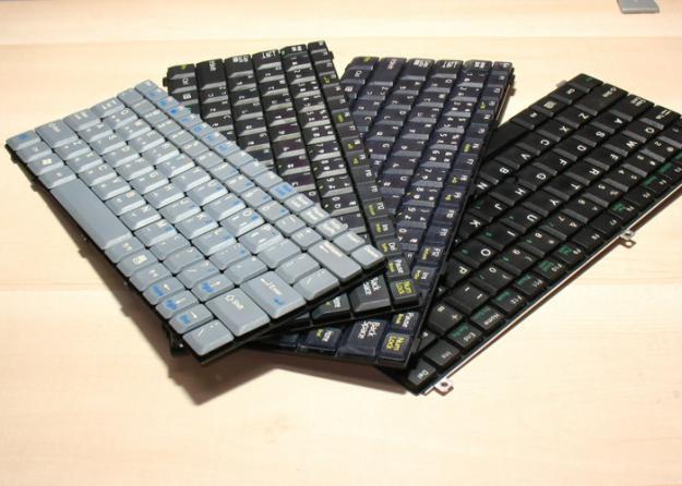 Ремонт клавиатуры ноутбука в Красноярске.