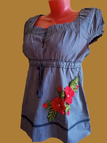 Блузки и футболки из натуральных тканей